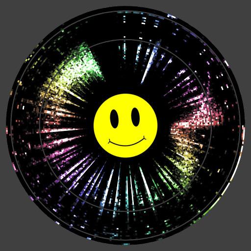 Vinyl Radar Wallpaper Engine