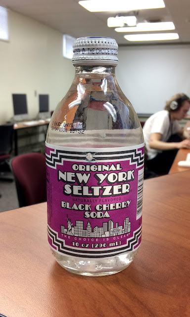 Original New York Seltzer Black Cherry Soda