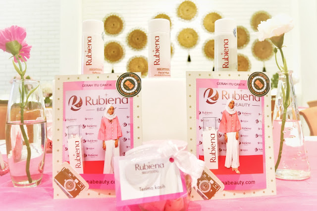 Launching Rubiena Brightening Series