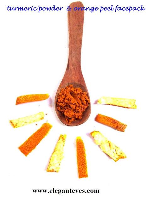 orange peel skincare