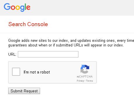 Cara submit URL ke Google , agar bisa di index google !
