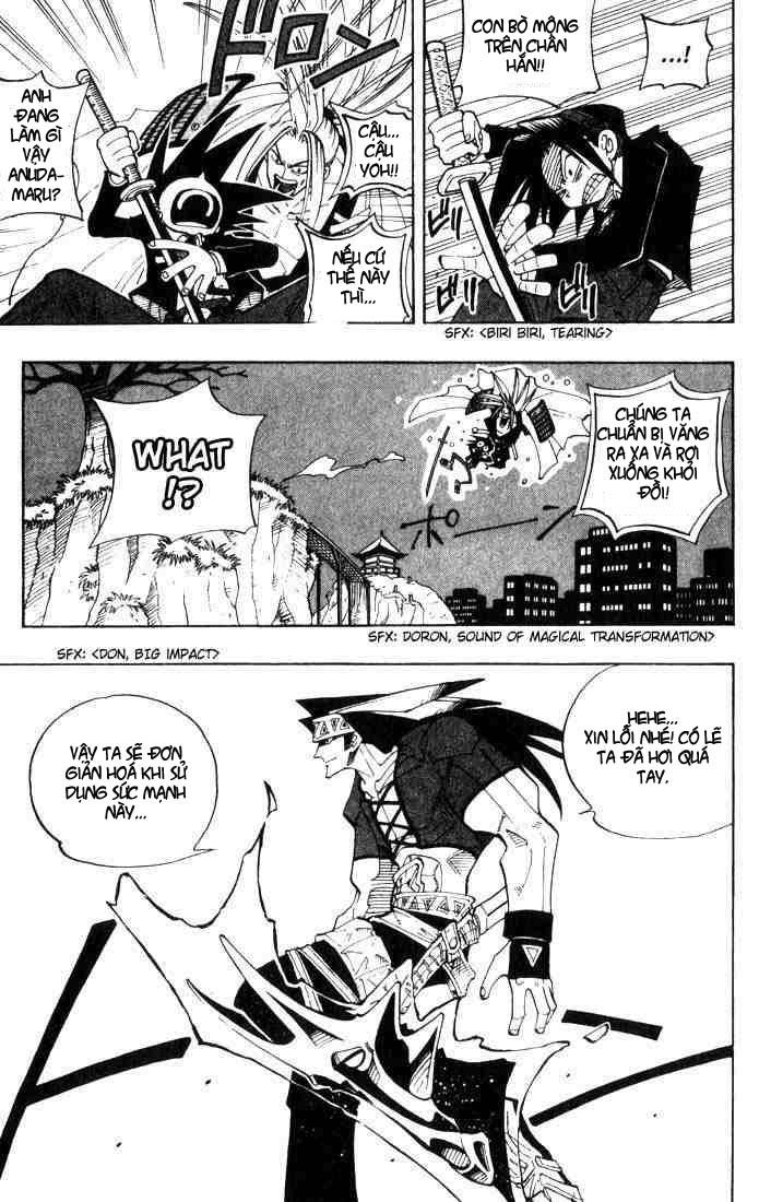 Shaman King [Vua pháp thuật] chap 28 trang 13