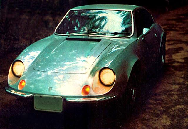 Puma GTE – 1976. Era montado em plataforma da Brasília e chegava a 157 km/h. Foto: Heitor Hui