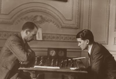 Torneo Nacional de Madrid 1941, partida de ajedrez Doménech - Navarro