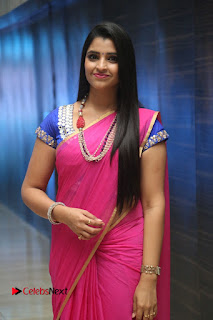 Anchor Shyamala Pictures in Pink Saree at Nandini Nursing Home Audio Launch  0072.JPG