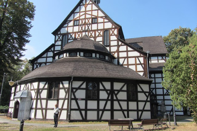 Vakwerkkerk in Swidnica