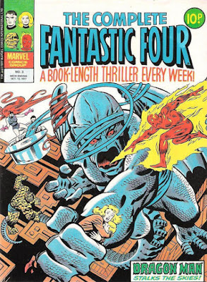 The Complete Fantastic Four #3, Dragon Man