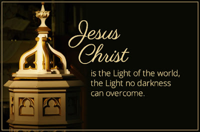 "Ash Wednesday Sermon: ""Jesus Christ is the Light of the World"""