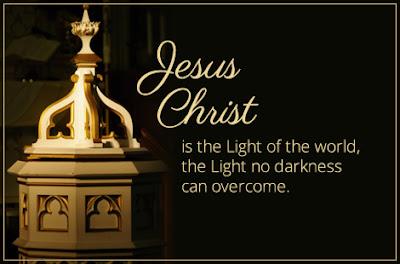 "Ash Wednesday Sermon: ""Jesus Christ is the Light of the World"""