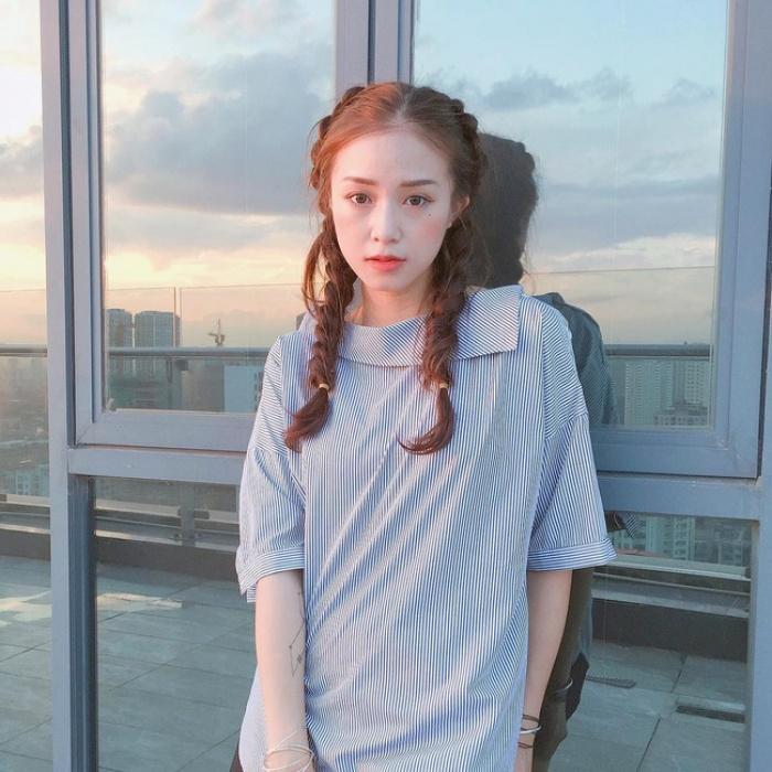 Mát trời , Các hot girl showbiz Việt đang để những mái tóc nà5o
