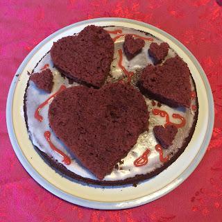 Red Velvet cake motor skills fun