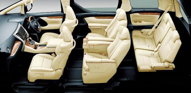 Mobil Yang Paling Nyaman Untuk Mudik Interior Toyota Alphard