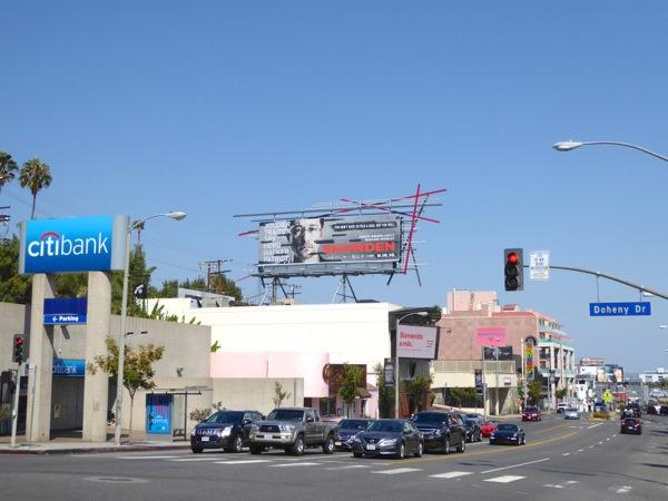 Snowden movie billboard