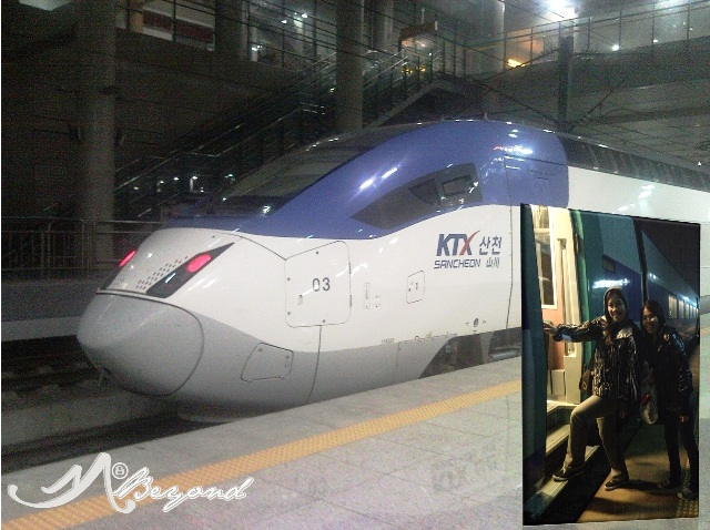 South Korea KTX, South Korea bullet train