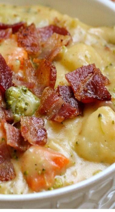 SOUP RECIPES | Broccoli Potato Soup Recipe