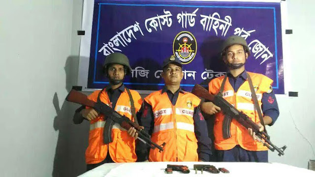 Two-foreign-pistols-recovered-in-Teknaf