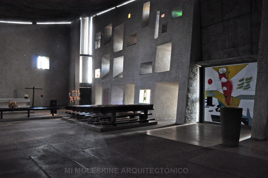 MY ARCHITECTURAL MOLESKINE LE CORBUSIER CHAPEL OF NOTRE