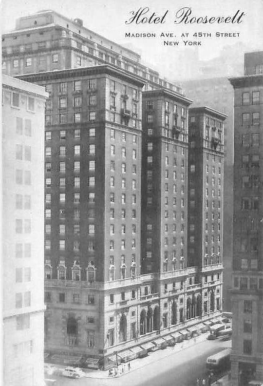 Daytonian In Manhattan: The 1924 Roosevelt Hotel