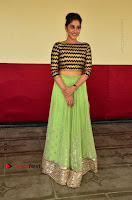 Actress Regina Candra Latest Pos in Green Long Skirt at Nakshatram Movie Teaser Launch  0099.JPG