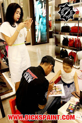 Face Painting Kids Burberry Jakarta