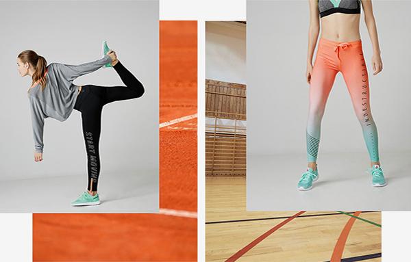 Reebok for Bershka colección deportiva zapatillas