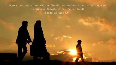 """Quinto mandamento - """"Honrarás Pai e Mãe"""""""
