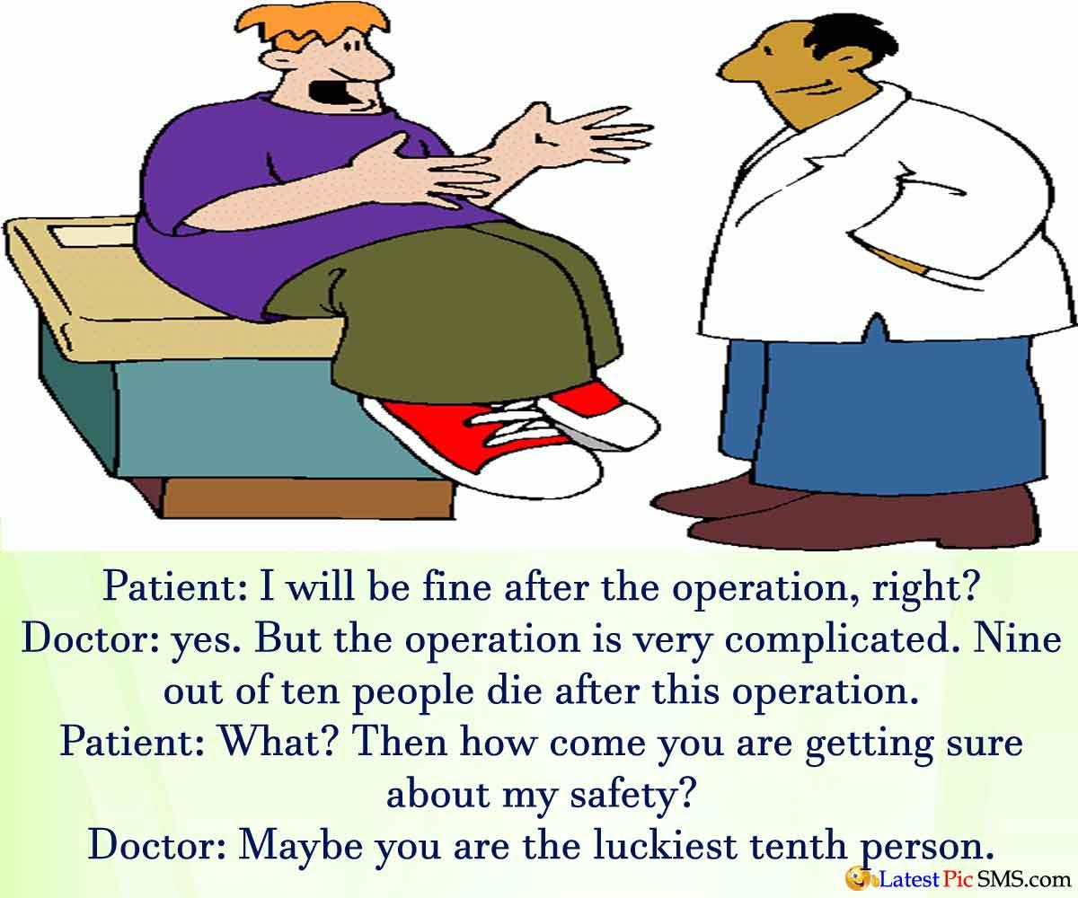 shayari: Funny Cartoon Doctor Patient Jokes