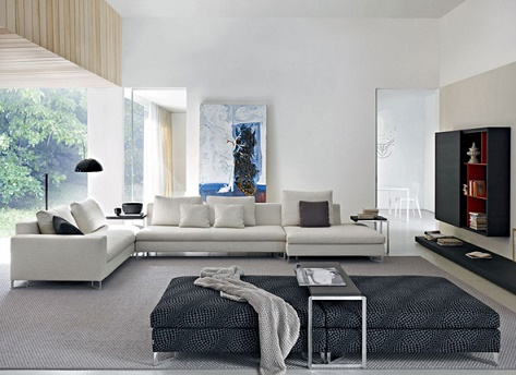 Modernos diseños de salas de estar   ideas de salas con estilo
