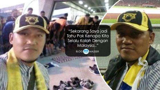 Penyokong Indonesia Menyamar Jadi Penyokong Malaysia Dedah Rahsia Kenapa Sukar Untuk 'Menewaskan' Malaysia