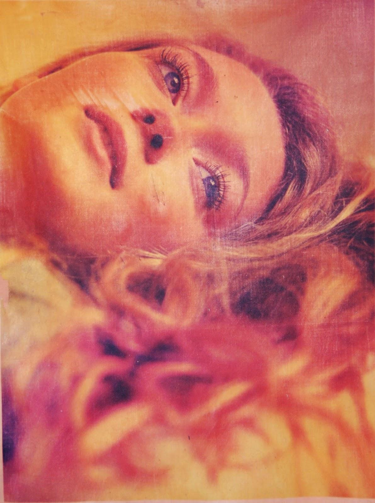 impression sur tissus portrait femme céline sew