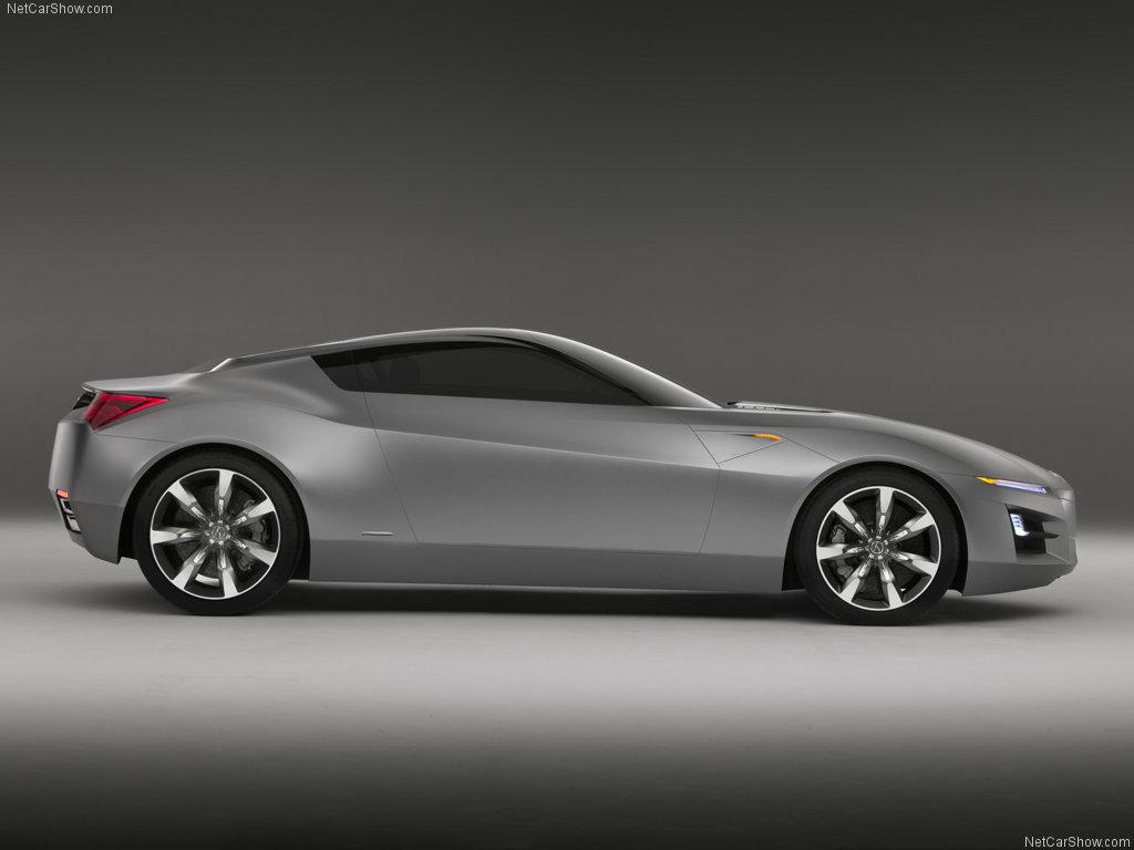 world automotive collection 2007 acura advanced sports car concept. Black Bedroom Furniture Sets. Home Design Ideas