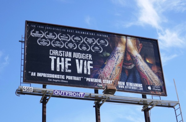 Christian Audigier Vif documentary FYC billboard