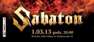 Sabaton bilet