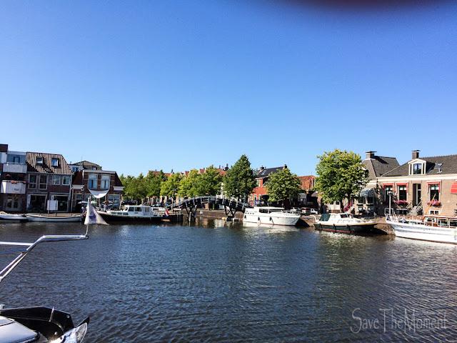 Gracht  in Sneek, Niederlande