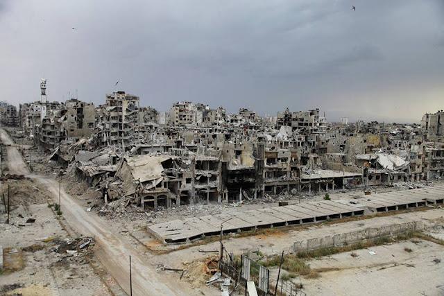 صورة من حمص المدمرة تفوز بجائزة  ناشيونال جيوغرافيك العالمية
