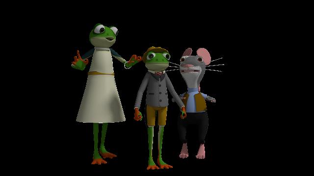 Rana, Rin Rin Renacuajo y Ratico
