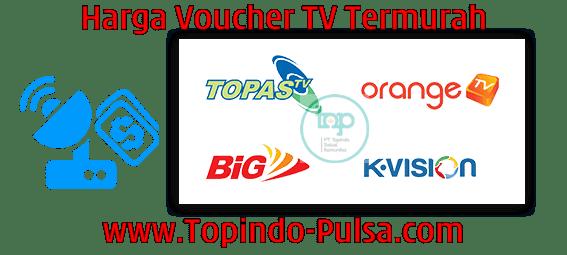Topindo-Pulsa.Com Agen Pulsa Voucher TV Berlangganan Termurah
