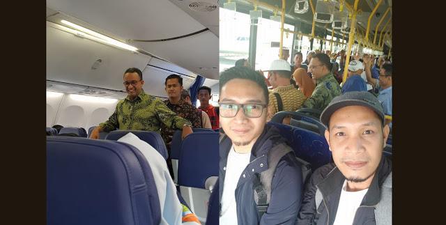 Ndak Nyangka Sekelas DKI 1 Naik Lion Air Kelas ekonomi, Duduknya Dibelakang Pula