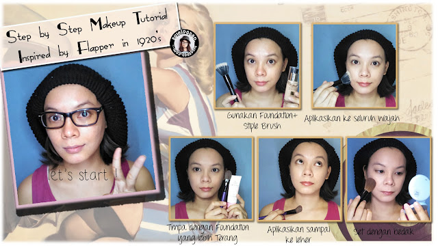 Tutorial Makeup : Flapper in 20s