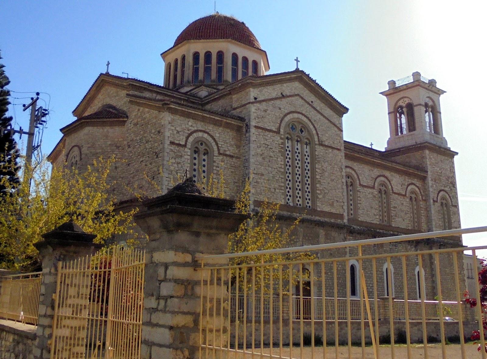 ο ναός του αγίου Παντελεήμονα στο Μεσολόγγι
