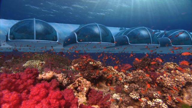 فنادق دبي تحت الماء