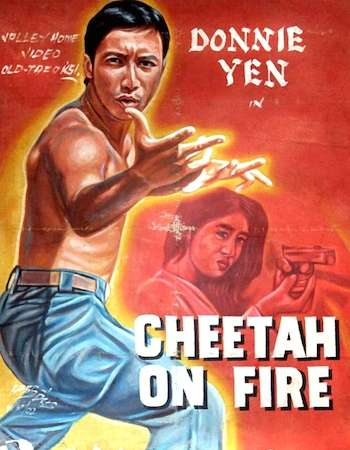 Poster Of Revenge of the Cheetah 1992 Dual Audio UNRATED DVDRip [Hindi - English] Free Download Watch Online