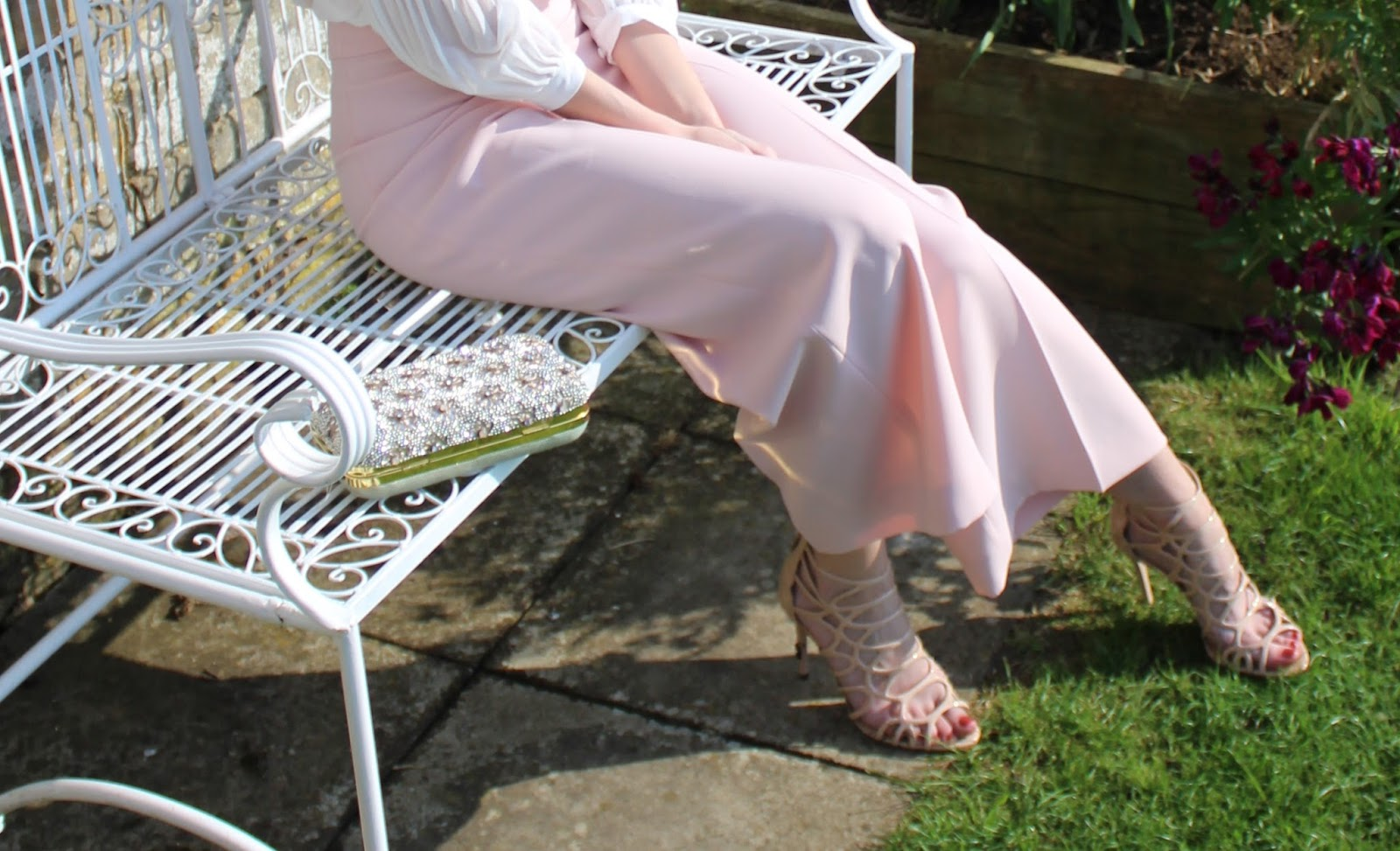 Blush Pink OOTD featuring Zara culottes - 4