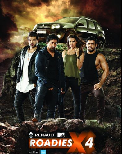 MTV Roadies X4 2015 Reality Show on and TV wiki, Contestants List, judges, starting date, MTV Roadies X4 host, timing, promos, winner list