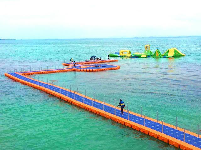 Floating Water Park - Nikmati Pertualangan Laut Anda di sini!