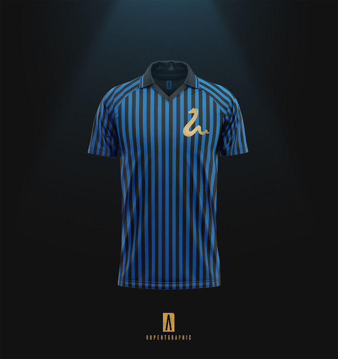 on sale b19f3 4d4b5 Inter Milan 'Golden Snake' Retro Concept Kits By ...