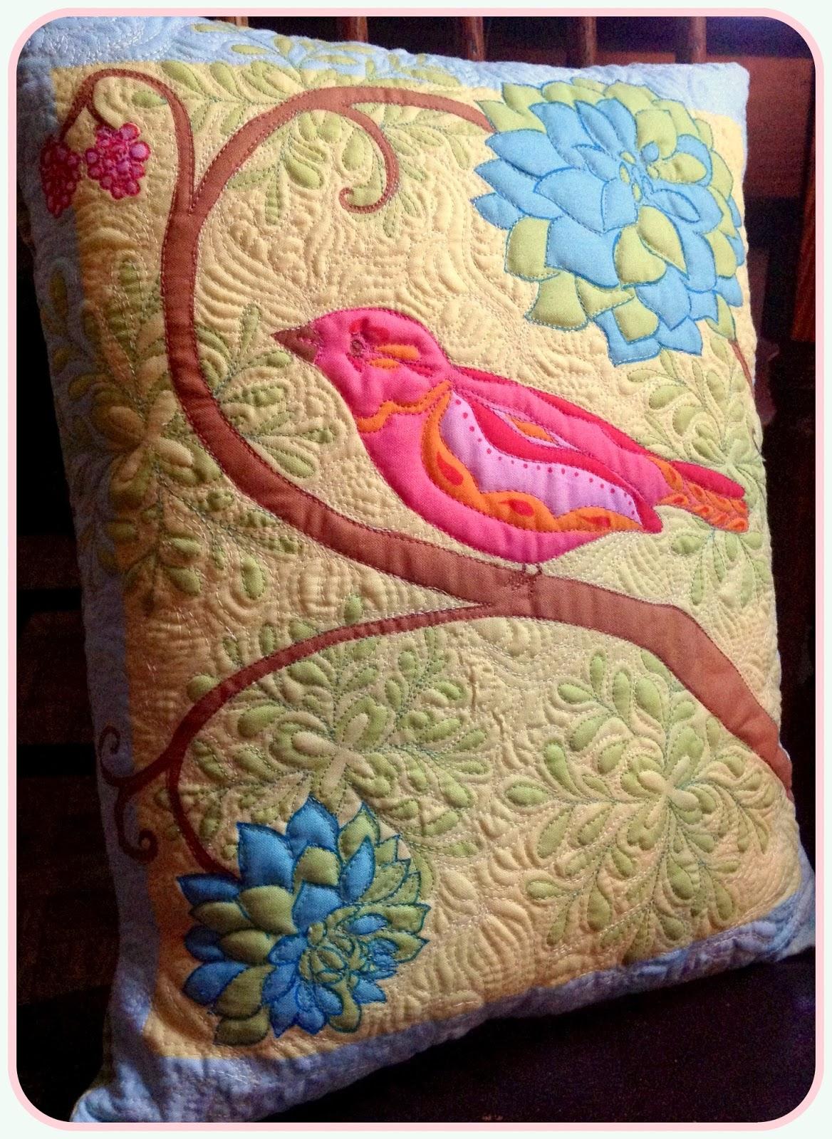 Karen S Quilts Crows And Cardinals My Tutorials