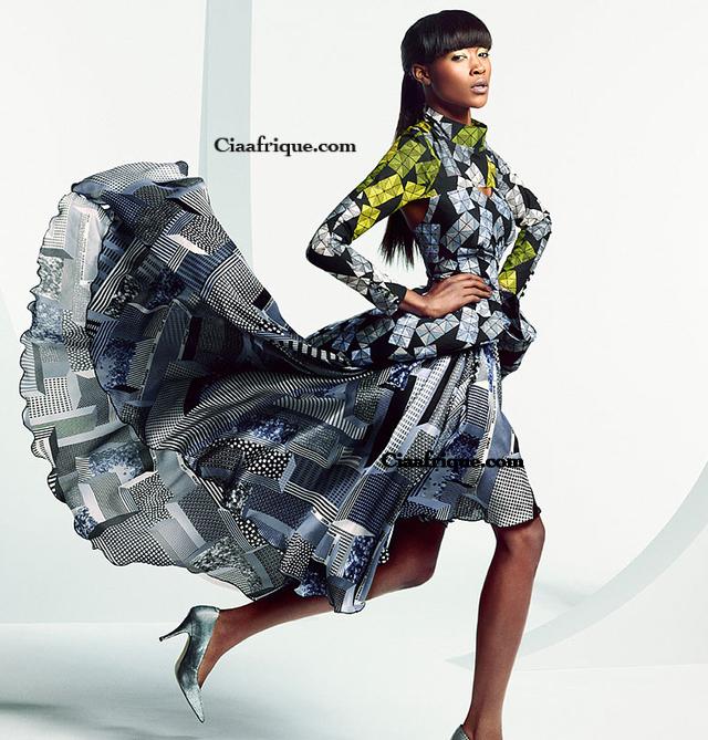kitenge dress by vlisco- modele de pagne africain de vlisco