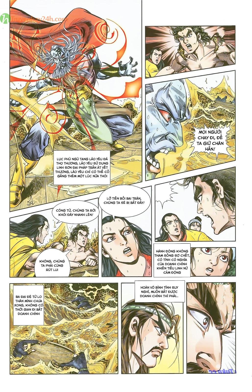 Tần Vương Doanh Chính chapter 28 trang 5