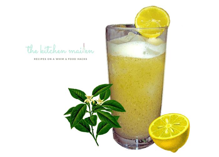 Refreshing Cucumber Mint Green Tea Slushie Drink